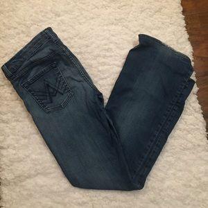 7Fam A Pocket Bootcut Jeans Hemmed 29x32